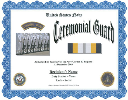 Us Navy Ceremonial Guard Display Recognition - Us-navy-ceremonial-guard
