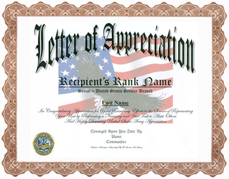 Appreciation Letter Sample Thank You Letter Thank You