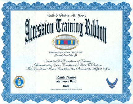 Air Force Training Ribbon Www Picswe Com