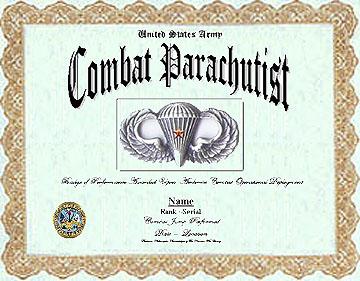 Combat Jump Badge Display Recognition