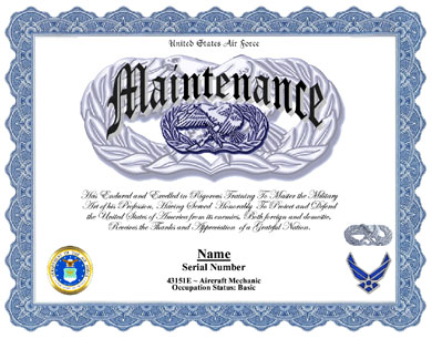 Sample air force certificate of appreciation choice image for Air force certificate of appreciation template