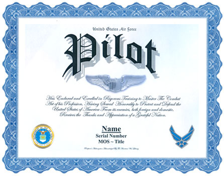Air Force Pilot Display Recognition