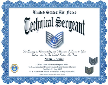 Air force brat certificate verbiage party invitations ideas for Air force certificate of appreciation template
