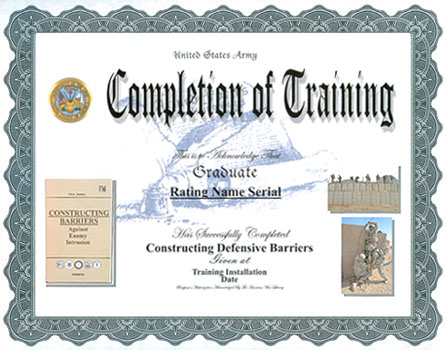 Doc407289 Sample Certificate of Training Completion Samples – Certificate of Completion Sample