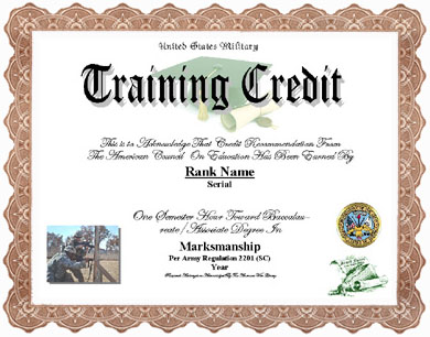 Military medal display recognitionscertificates marksmanship training credit yadclub Choice Image