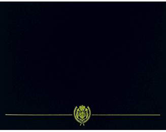 heavy bond enclosure colors regal black navy trimmed in appearance gold